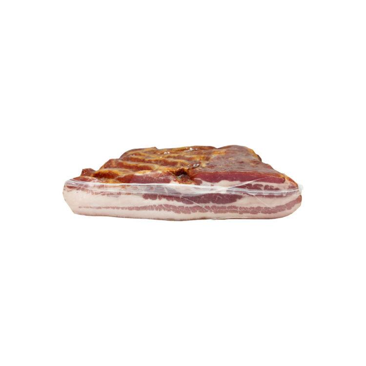 Füstölt bordázott kolozsvári szalonna felezett vákuumfóliában