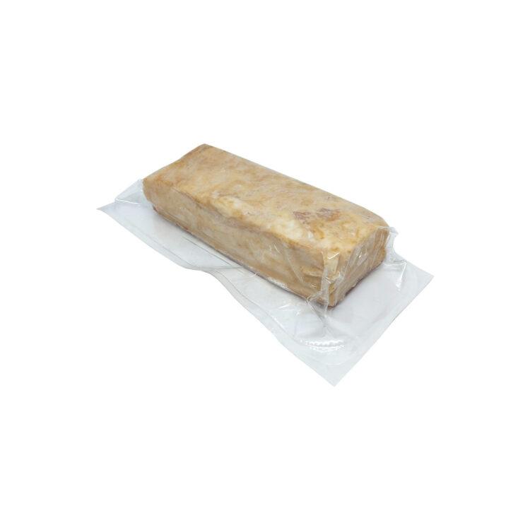 Füstölt kenyér szalonna darabolt vákuumfóliában