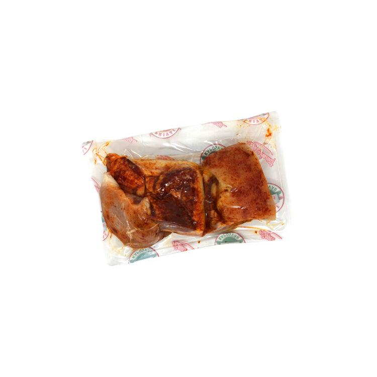 Főtt paprikás sertés fej vákuumfóliában