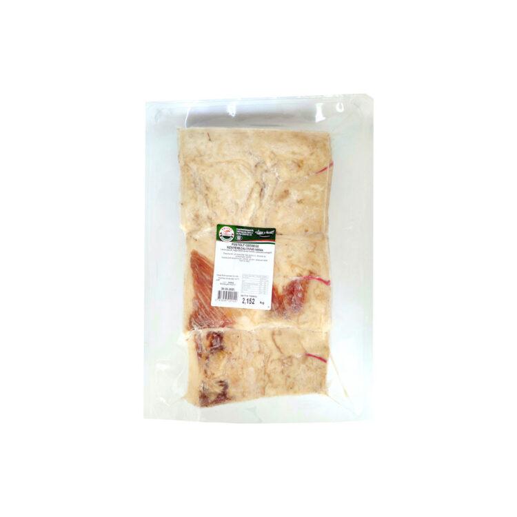 Füstölt csemege kenyérszalonna táblás vákuumfóliában