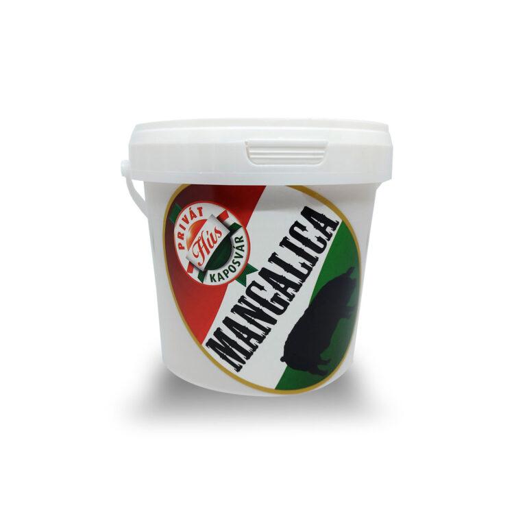 Mangalica zsír házias jellegű 1kg vödrös